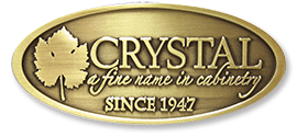 Crystal Cabinet Works logo - Crystal a fine name in cabinetry since 1947