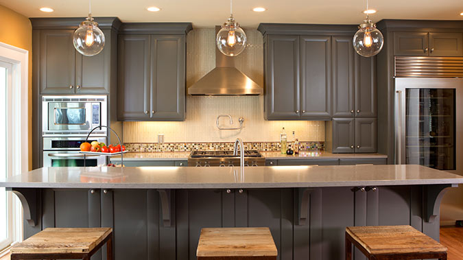 Custom Cabinets by Crystal Cabinet Works | South City Lumber & Supply