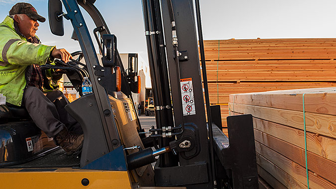 Our delivery trucks can be seen making lumber deliveries throughout the Bay Area