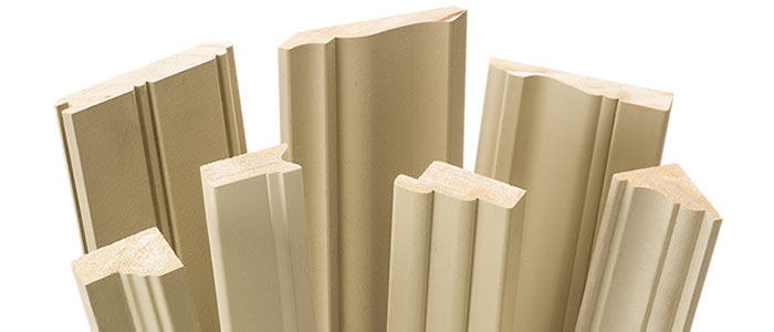 A selection of Bodyguard exterior mouldings and trim boards