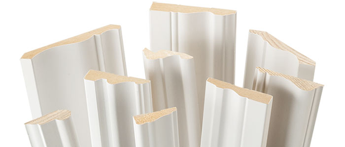 A selection of El & El moulding profiles