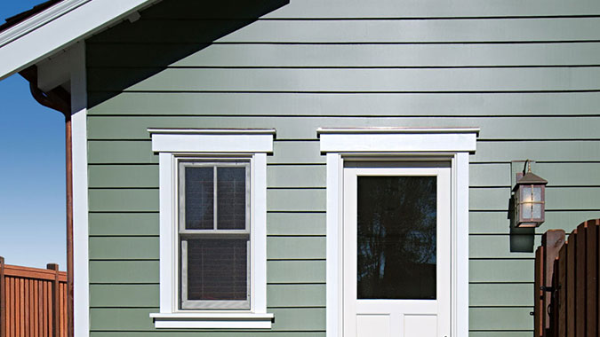 Bodyguard exterior wood siding and matching trim is used on the front of this house & Exterior Siding Fascia and Trim   South City Lumber \u0026 Supply Pezcame.Com