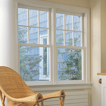Marvin Tilt Pac Double Hung Sash Replacement Windows Are Installed In This Craftsman Style Home